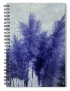 Blue Grass Spiral Notebook