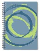 Blue Green 1 Spiral Notebook
