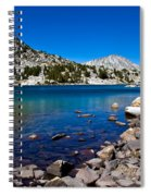 Blue Green Treasure Lake Spiral Notebook