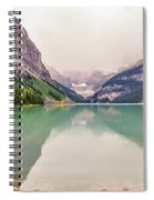 Blue-green Waters Of Lake Louise Spiral Notebook