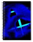 Blue Guitar 2 Spiral Notebook
