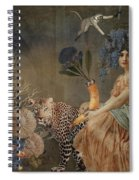 Blue Harvest Spiral Notebook
