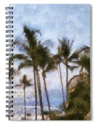 Blue Hawaii Spiral Notebook