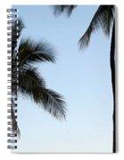 Blue Hawaiian Spiral Notebook