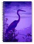 Blue Heron... Spiral Notebook