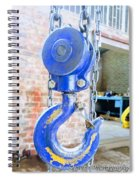 Blue Hook Spiral Notebook