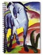 Blue Horse I 1911 Spiral Notebook