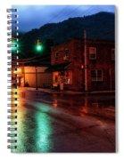 Blue Hour In Webster Springs Spiral Notebook