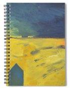 Blue House Gold Field Spiral Notebook