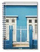 Blue Curacao House Spiral Notebook
