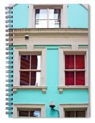Blue House Spiral Notebook