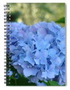 Blue Hydrangea Flower Art Prints Baslee Troutman Spiral Notebook