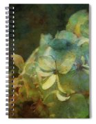 Blue Hydrangea Sunset Impression 1203 Idp_2 Spiral Notebook