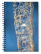 Blue Ice 5 Spiral Notebook