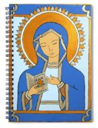 Blue Icon Spiral Notebook