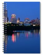 Blue Indianapolis Spiral Notebook
