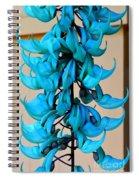 Blue Jade Strand Spiral Notebook