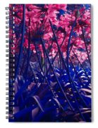 Blue Jungle Spiral Notebook