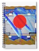 Blue Kimono Spiral Notebook