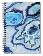 Blue Lace Agate I Spiral Notebook