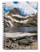 Blue Lake Colorado Spiral Notebook