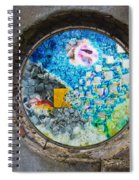 Blue Lies Spiral Notebook