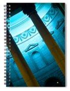 Blue Light Spiral Notebook