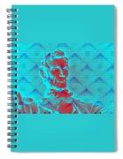 Blue Lincoln Spiral Notebook