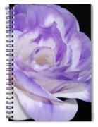Blue Lisianthus Layered Loveliness II  Spiral Notebook
