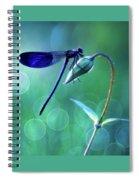 Blue Magic Spiral Notebook