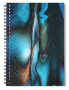 Blue Man Spiral Notebook