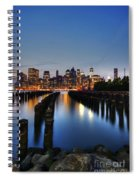 Blue Manhattan Spiral Notebook