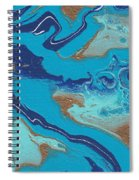 Blue Marble Spiral Notebook