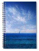 Blue Mediterranean Spiral Notebook