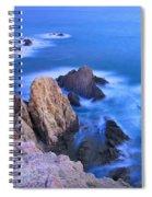 Blue Mermaid Reef At Sunset Spiral Notebook