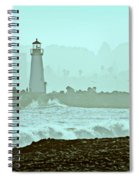 Blue Mist 2 Spiral Notebook