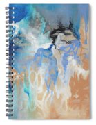 Blue Monday Spiral Notebook