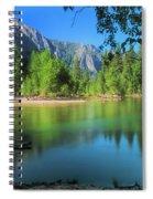 Blue Mood In Yosemite Spiral Notebook