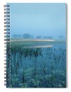 Blue Morning Flash Spiral Notebook