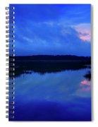 Blue Morning Spiral Notebook