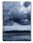 Blue Morning Taal Volcano Philippines Spiral Notebook