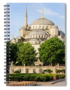 Blue Mosque Spiral Notebook