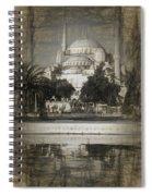 Blue Mosque - Sketch Spiral Notebook