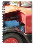 Blue Motor Spiral Notebook