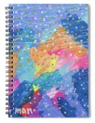 Blue Mountain Mayhem Spiral Notebook