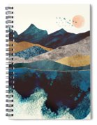 Blue Mountain Reflection Spiral Notebook