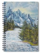 Blue Mountain Torrent Spiral Notebook