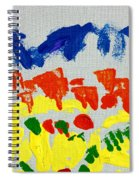 Blue Mountains Even Lemons Limes Oranges And Strawberries Spiral Notebook