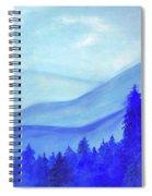 Blue Mountains Spiral Notebook