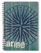 Blue Nautical-jp3616 Spiral Notebook